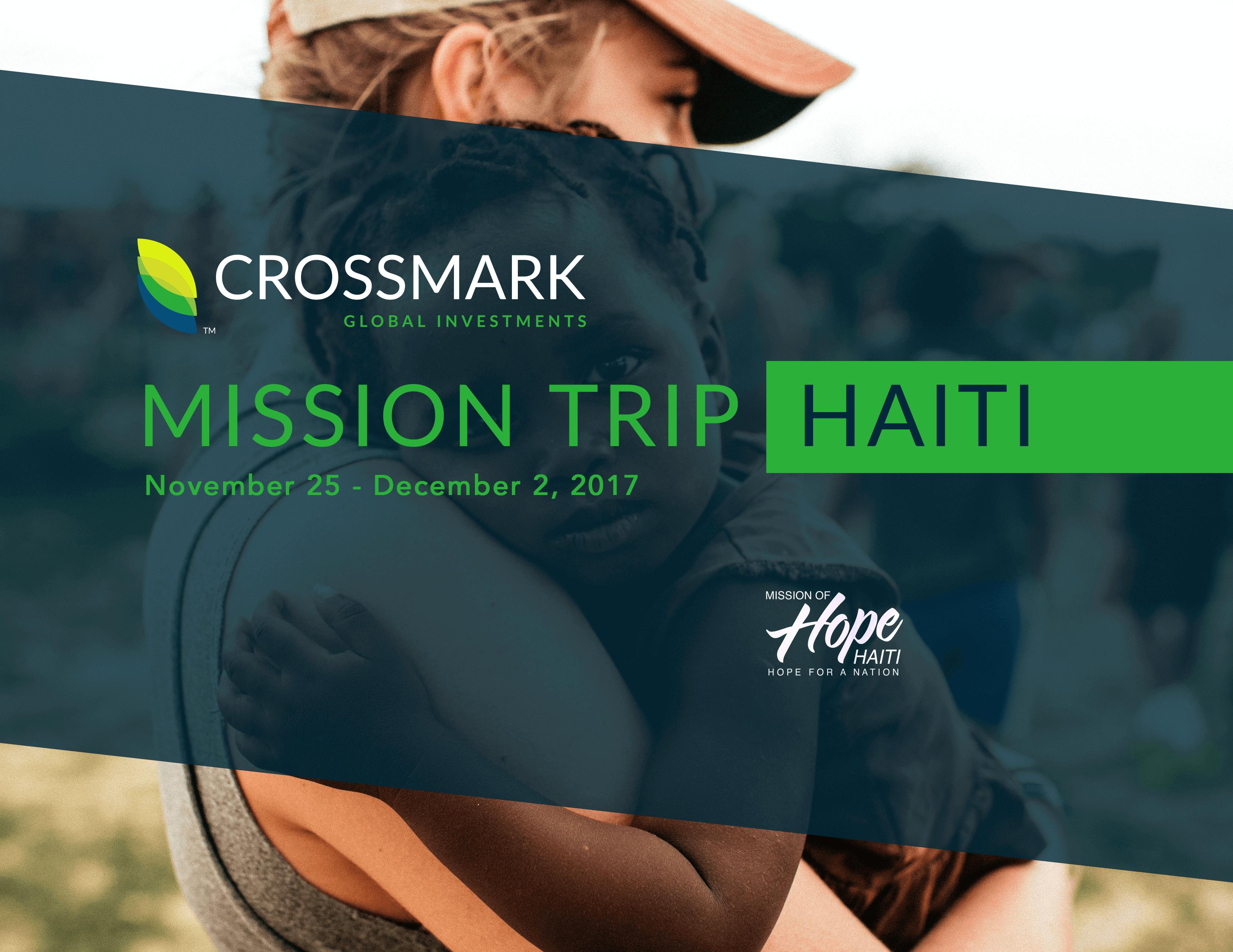 Crossmark Haiti Mission Trip